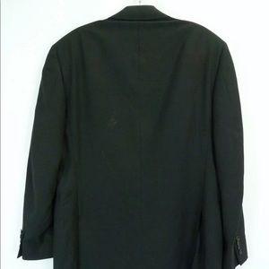 Canali Jackets & Coats - Canali Italian Wool EX Black Blazer Sport Coat 44